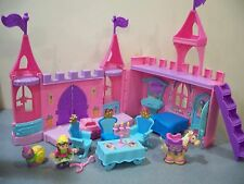 Fisher Price Little People Pink Dance n' Twirl Royal Castle Palace Princess SET