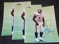 New York Giants LSU Leonard Marshall Signed 8x10 Photo Vintage Autograph JB3
