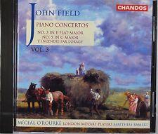 Field: Piano Concertos 5 & 3, O'Rourke / Bamert / London Mozart Players, New CD