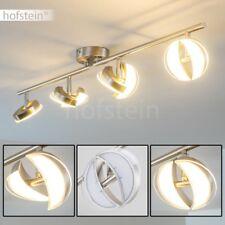 Luce Salotto Camera Letto Spot Orientabili Faretti LED Design Nichel Moderno 21W