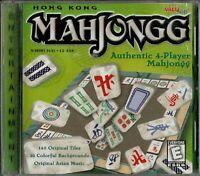 Hong Kong Mahjongg PC Brand New XP