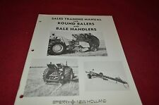 New Holland Round Balers For 1975 Sale Training Manual Manual DCPA5