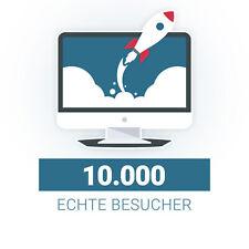 🚀 10.000 Echte Besucher 🚀 Deutsche Webseiten Besucher I Traffic I SEO
