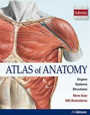 ATLAS OF ANATOMY - NEW HARDCOVER BOOK
