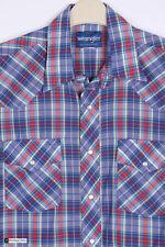 Camicie casual e maglie da uomo multicolore in cotone Wrangler