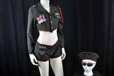 Adult SEXY Military Trooper Uniform COSTUME Leg Ave Squad Commander