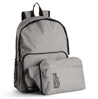 The Last of us Part II 2 Ellie Edition PS4 Backpack Bag Laptop + Waist Pack GRAY