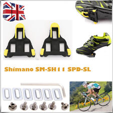 2 PCs Road Bike Bicycle Self-locking Pedal Cleats Set For Shimano SM-SH11 SPD-SL
