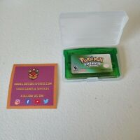 Pokemon Emerald Version AFTERMARKET For Gameboy and Gameboy Advance GBA