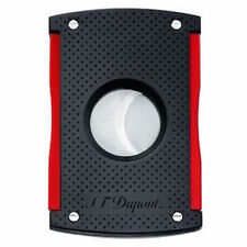 S.T. Dupont MaxiJet Cigar Cutter, Black Punched Effect 3260 (003260), New In Box