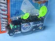 Matchbox Frieghtliner Satellite Truck Space Agency Black 110mm Toy Model NASA