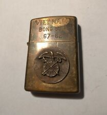 Vietnam WAR BONG SON 67 - 68 military brass zippo lighter