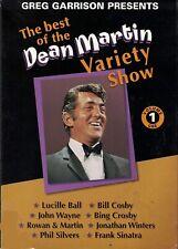THE BEST OF THE DEAN MARTIN VARIETY SHOW VOLUME 1 DVD w/ FRANK SINATRA