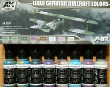 AK Interactive WWI German Aircraft Colours Acrylic Set For Models