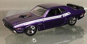 MINT LOOSE 2011 Hot Wheels #012 New Models Series purple '71 Dodge Challenger