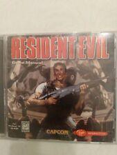 Resident Evil Game Manual PC CD-ROM Window 95