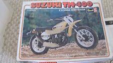 Vintage 1976 Revell Suzuki TM 400 1/12 Dirt Motocross Motorcycle Model kit