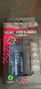 Brand New Muc-off Helmet, Visor and Goggle cleaning kit
