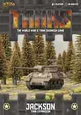 TANKS25 JACKSON EXPANSION - WORLD WAR 2 SKIRMISH GAME - GALE FORCE NINE