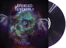 "AVENGED SEVENFOLD 2X 12"" Grape Purple Splatter vinyl LP THE STAGE record album"