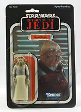 Vintage Star Wars ROTJ Japanese Tsukuda Squid Head Variant MOC Kenner ULTRA RARE