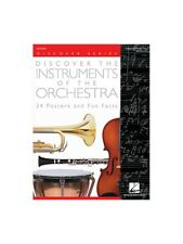 Discover The Instruments Of The Orchestra 24 Posters And Fun Facts MUSIC BOOK