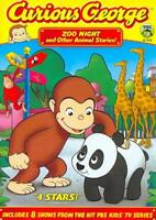 CURIOUS GEORGE: ZOO NIGHT AND OTHER ANIMAL STORIES NEW DVD
