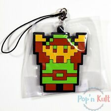 The Legend of Zelda Link Mascot Rubber Strap Keychain Famicom Collection NEW