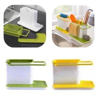 New Sponge Kitchen Box Draining Rack Dish Self Draining Kitchen Organizer Stands