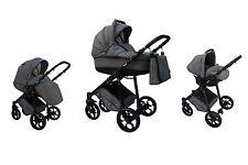 Kombikinderwagen Maxim Kinderwagen + Babyschale 0-13kg,Isofix geeignet Baby Kind