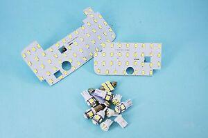 LED Interior Light Kit Exact Fit Panels for Toyota Landcruiser Prado 120 Series