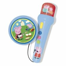 Peppa Pig Microphone And Amplifier Educational Toy with Melodies Sounds and Ligh
