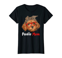 Womens Funny Poodle Mom Gift For Dog Lovers - Mothers Day Gift T-Shirt S-5XL
