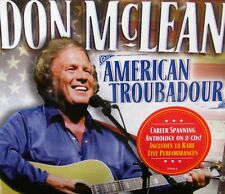 Don Mclean: American Troubadour by Don McLean NEW! 2 CD 30 SONGS ,TIME LIFE