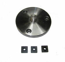 RDGTOOLS 80MM 14 X 1 ROTARY TABLE ADAPTOR PLATE / EMCO LATHE MILLING ENGINEERING