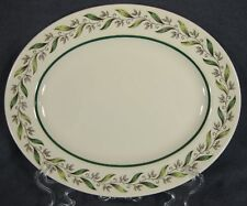 "Royal Doulton ALMOND WILLOW D6373 10"" Oval Serving Platter"