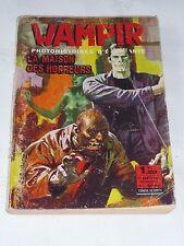 WAMPIR photohistoire d' épouvante numéro 1  editeur Ponzini novembre 1967