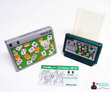 Nintendo FAMICOM Game Spiel - MAH JONG - Komplett in OVP BOX
