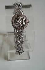 Vintage Look  Bracelet Marcasite Antique Lady Special Occasion Fashion Watch