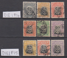 Rhodesia 1913/19 Admirals Collection Used P14 & P15