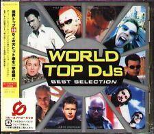 World Top DJs Best Selection - Japan CD+2 - NEW TIESTO HI-GATE BEDROCK DELERIUM