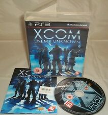 Sony PLAYSTATION 3 PS3 CONSOLE GAME-X-COM ENEMY UNKNOWN