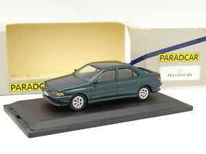 Paradcar 1/43 - Peugeot 406 Verte