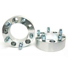 "2 Pcs CNC Wheel Spacers Adapters 5X127 5X5 | 78.4 CB | 1/2"" Studs | 50MM 2 Inch"
