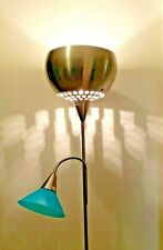 USED 2in1 Floor Lamp Stand Flexible Neck Modern Night Light Table Study Lounge
