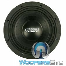 "SUNDOWN AUDIO SD-4 8 D4 CAR 8"" 400W RMS DUAL 4-OHM SUBWOOFER BASS SPEAKER NEW"