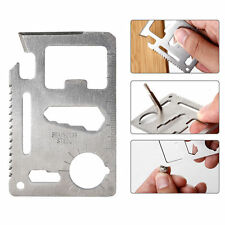 Multifunction Credit Card Living Survival Outdoor Pocket Camping Tool Opener