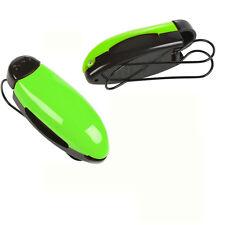Green  Car Vehicle Visor Sunglass Eye Glasses Holder Clip Stand  Billfold