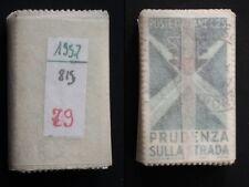 REPUBBLICA 1957 EDUCAZIONE STRADALE USATO DA MAZZETTA 79 PEZZI
