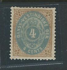 Bigjake: Danish West Indies #7b - 4 cent value